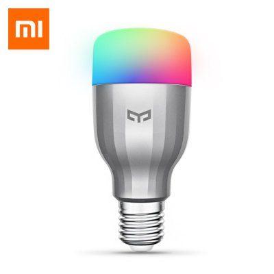 Yeelight Mjdp02yl 10w Rgb E27 220 240v Led Smart Bulb Xiaomi Ecosystem Product Svetodiodnaya Lampa Lampa Lampochka