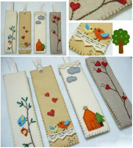 Diy bookmark to help you remember the st via craftsy for Easy bookmark ideas