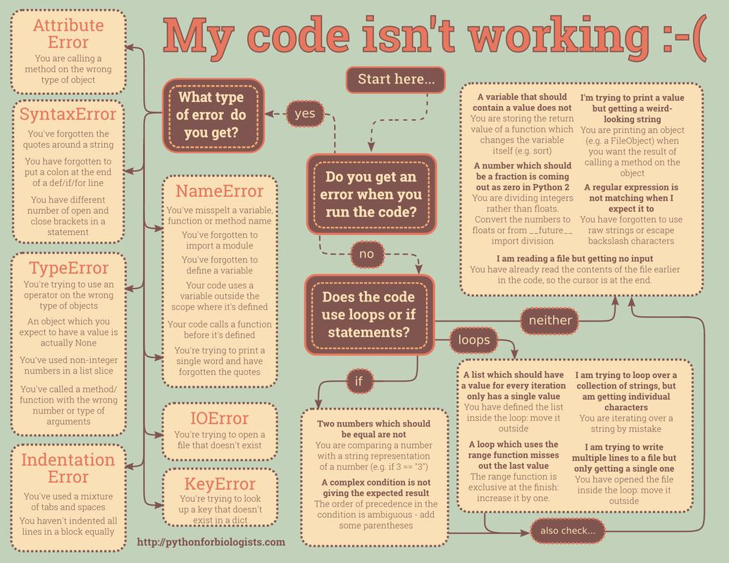 My code isn't working ( Programming in Scratch