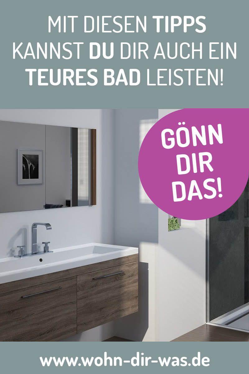 So Viel Kostet Dein Traumbad Traumbad Neues Bad Kosten Bad