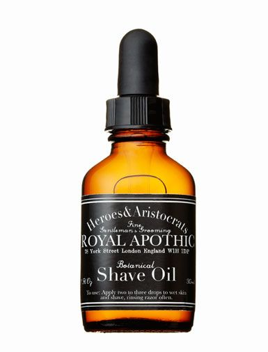 Royal Apothic Heroes & Aristocrats Botanical Shave Oil