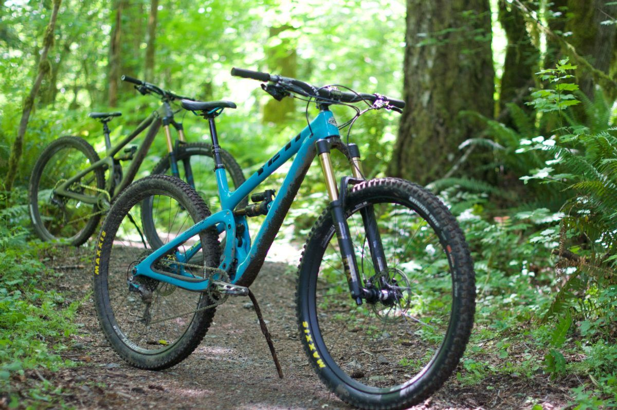 Is There A Consensus On Ideal Trail Bike Geometry Top Brands Compared Singletracks Mountain Bike News Mountain Biking Mountain Bike Accessories Mountain Biking Gear