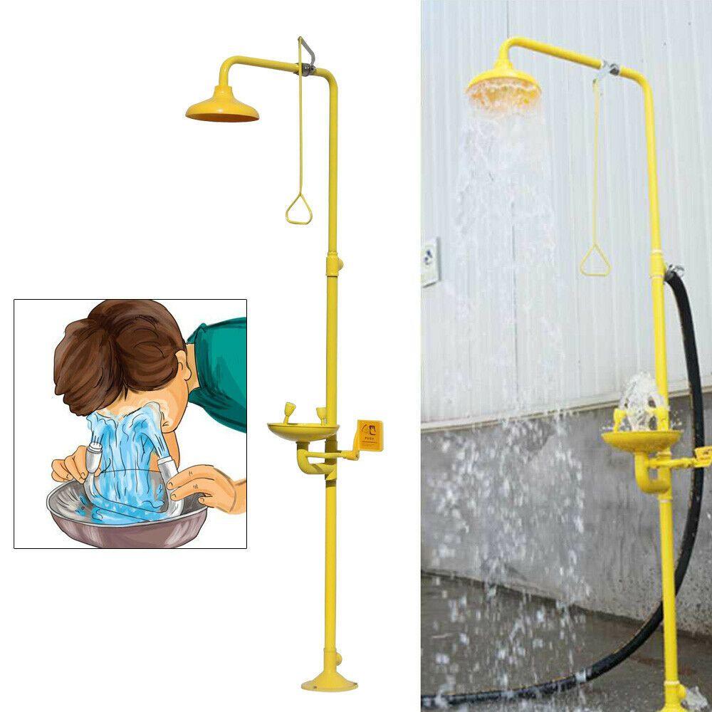 (Sponsored)(eBay) Shower and Eyewash Station, Safety