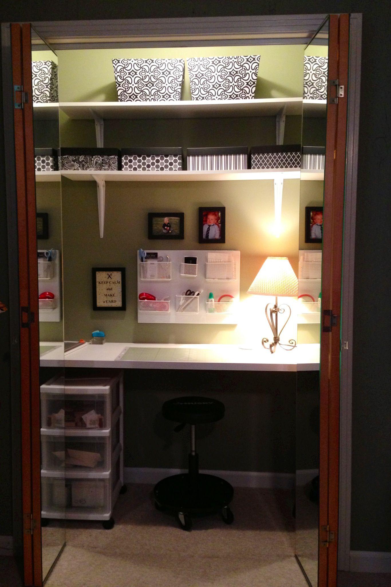 Card Making Storage Ideas Part - 21: Storage Ideas · Craft Closet For My Card Making.