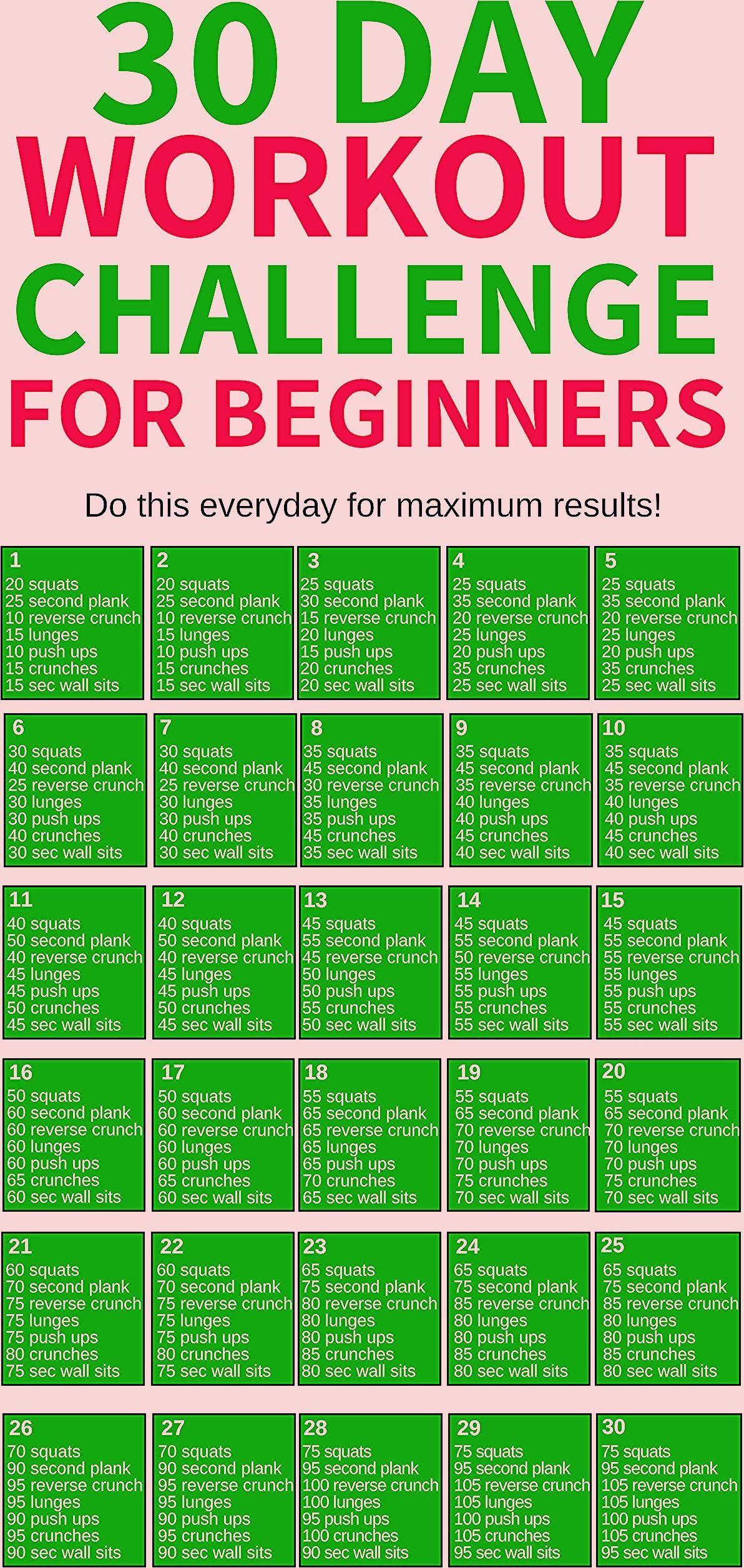 30 Day Workout Challenge - Gesundheit und Fitness - #Challenge #DAY #fitness #Ge...,  #Challenge #Da...