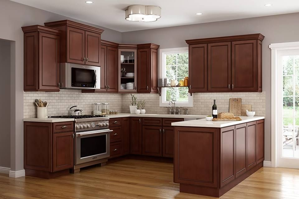 Delicieux The RTA Store Brantley Chocolate Glaze Collection Features An Overlay Door  And Recessed Panel Design That Adds A Classic Look To Any Kitchen.