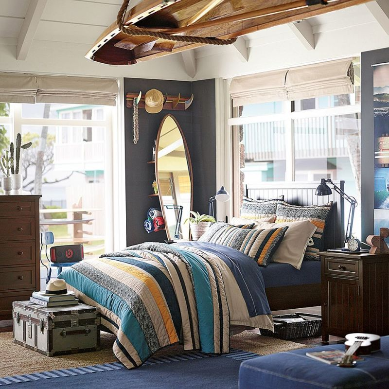 82 idées aménagement chambre ado garçon à l\'américaine | Bed room ...