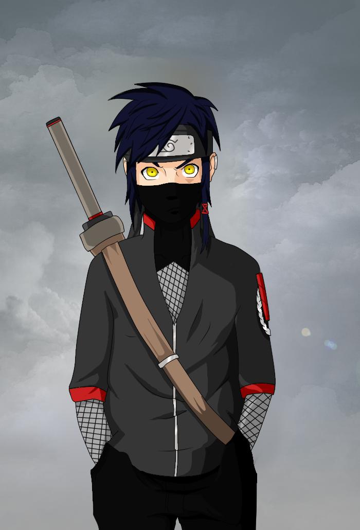 deviantART Naruto OC Male   Naruto Male OC: Ash by tori0823