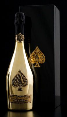 I will have a bottle of this one day...Armand de Brignac Champagne