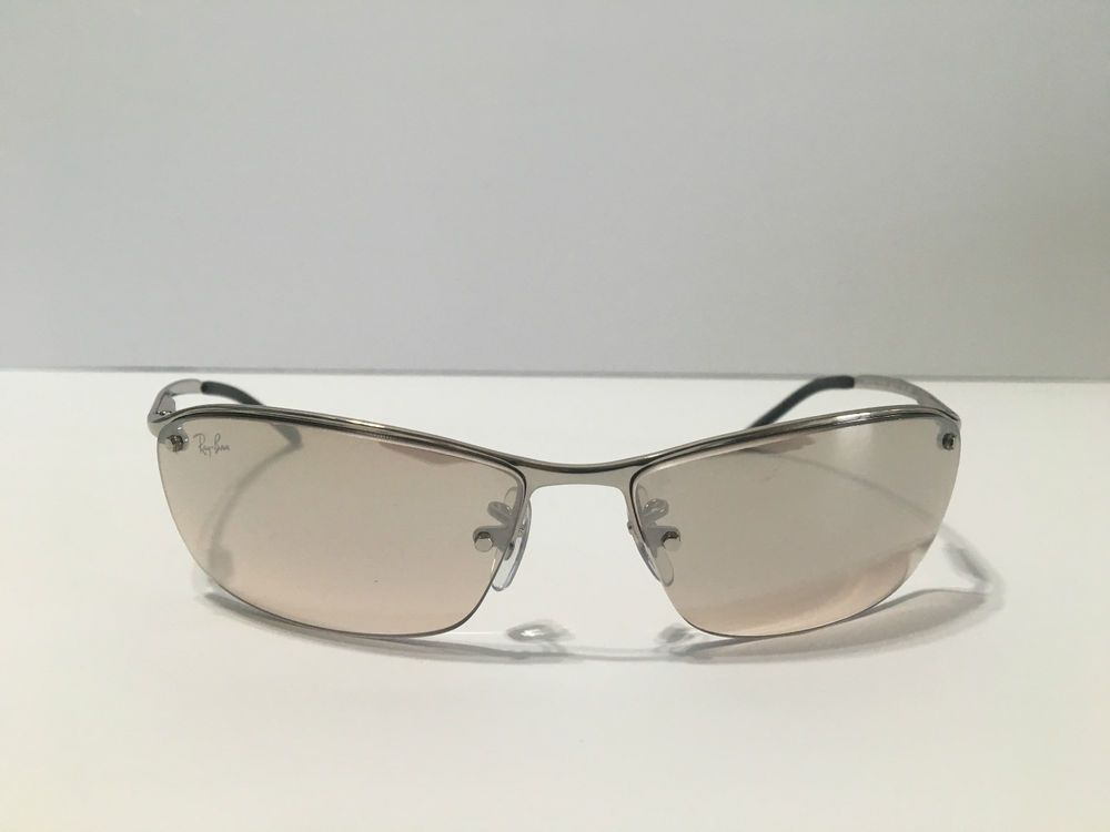 Sunglasses Ray Ban Top Bar   Rb3183 003/8z 63 Silver