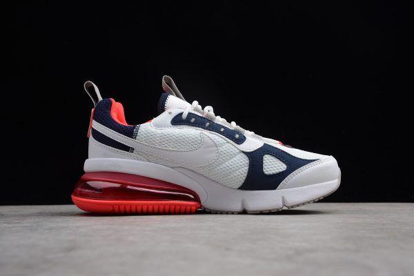 edb0f8142683 Womens Nike Air Max 270 Futura White Rush Pink-Blue AJ7290-100 in ...