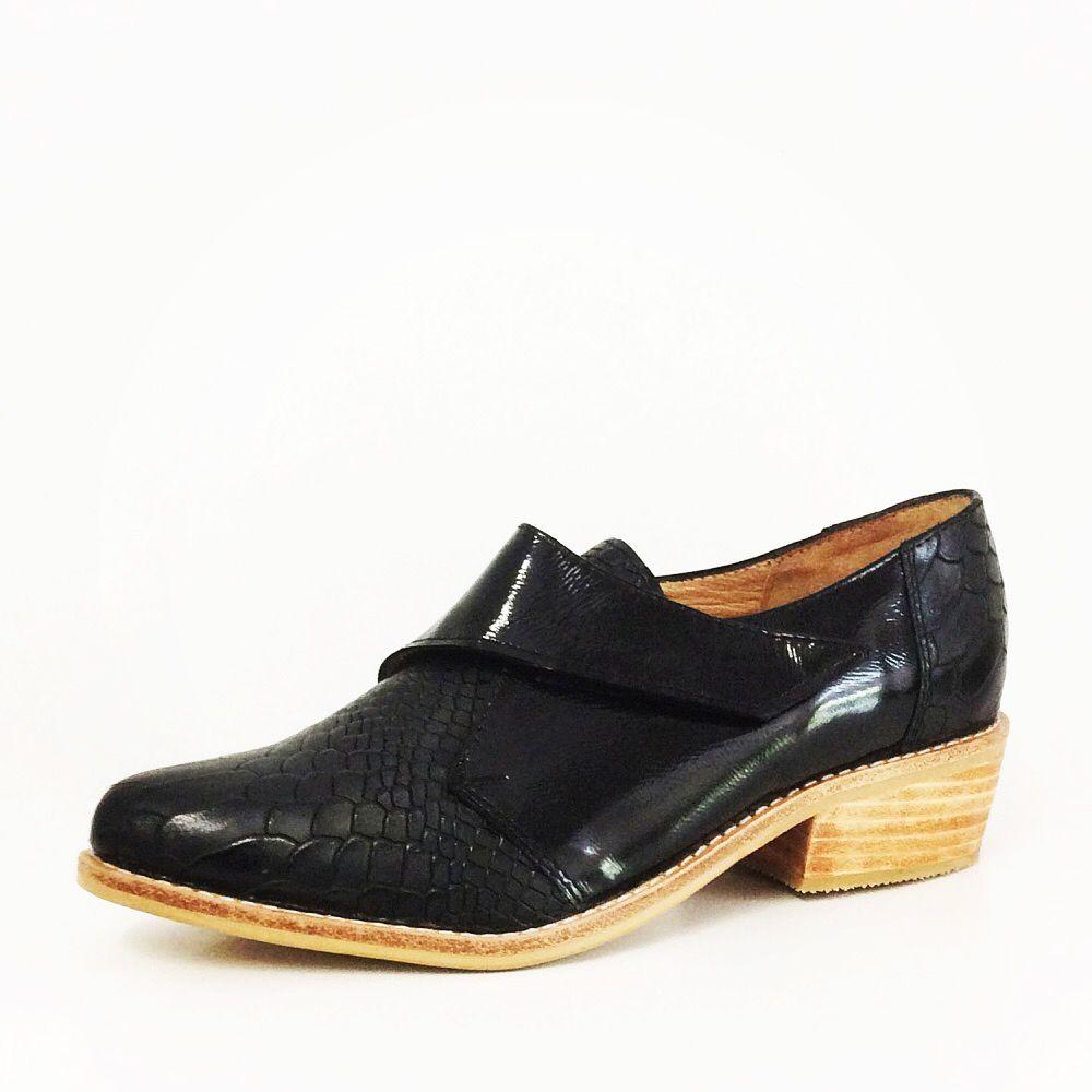 Valentina Croco Charol Negro | TIENDA NHJ | Zapatos, Charol