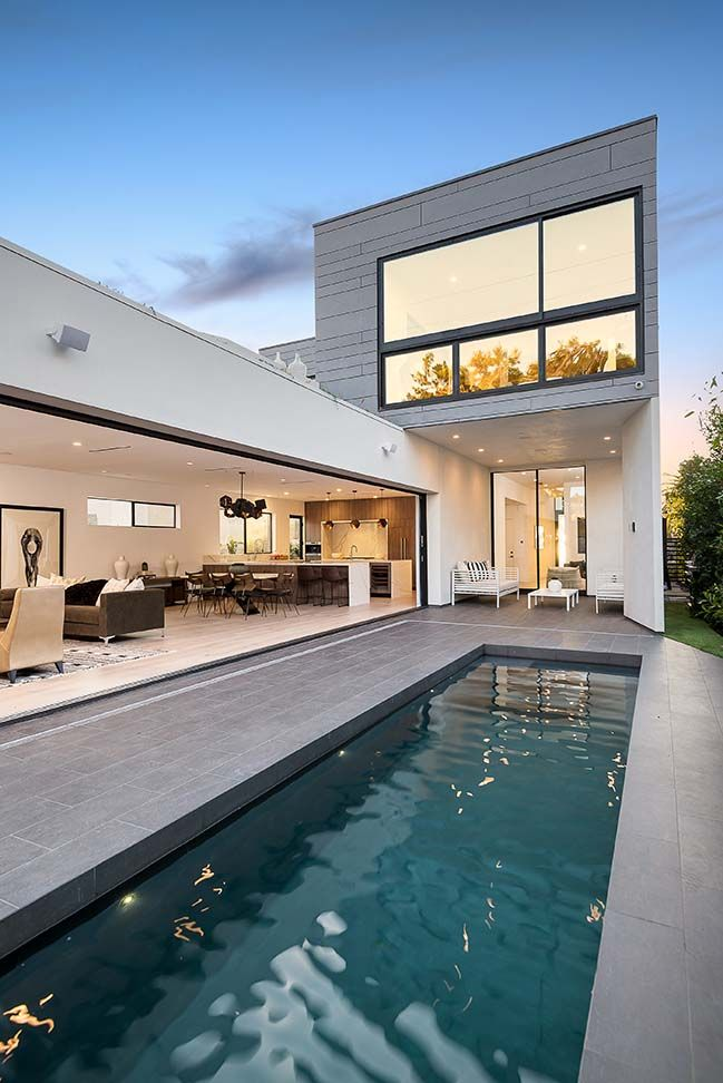 Croft Residence in West Hollywood by AUX Architecture -   11 garden design Luxury architecture ideas