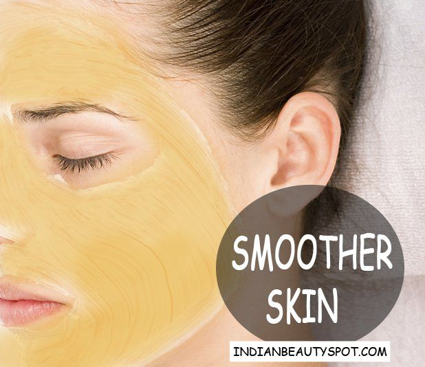 Smoother Skin with turmeric honey mask and scrub