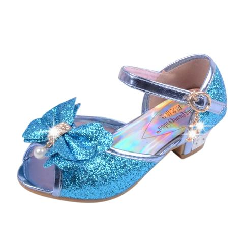 Toddler Shoes Infant Kids Baby Girls Pearl Crystal Single Princess Shoes Sandals