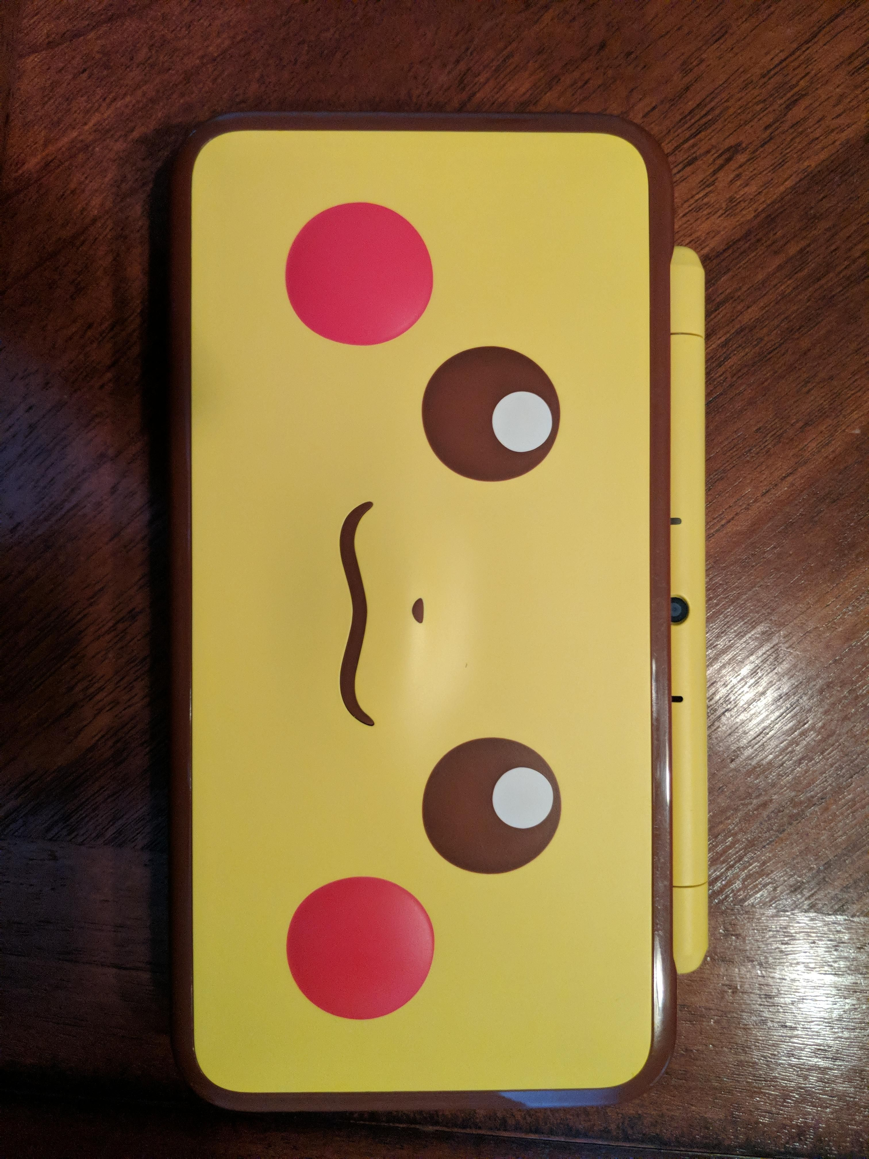 My Girlfriend Bought Me A Pikachu 2ds Xl For Christmas Pokemon