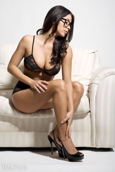 Final, Amateur brunette lingerie think, that