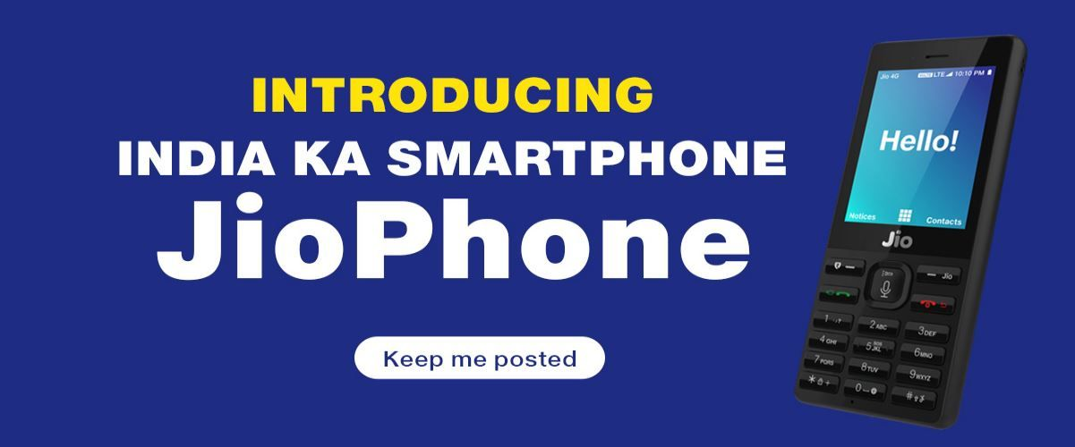Book Jio Phone, Price Rs 1500 [Register Now] Phone, Dual