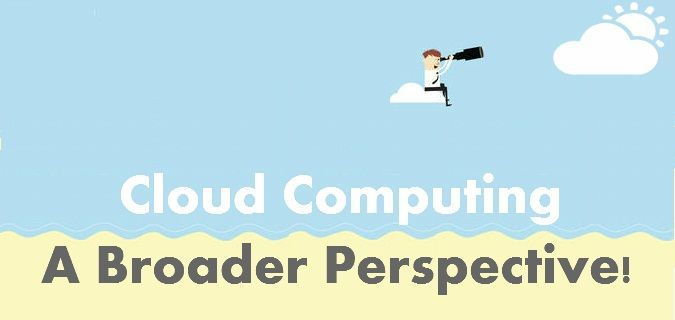 An overview of all aspects related to Cloud computing giving a broader perspective to it. Covers all necessary features, types and applications of Cloud Computing.