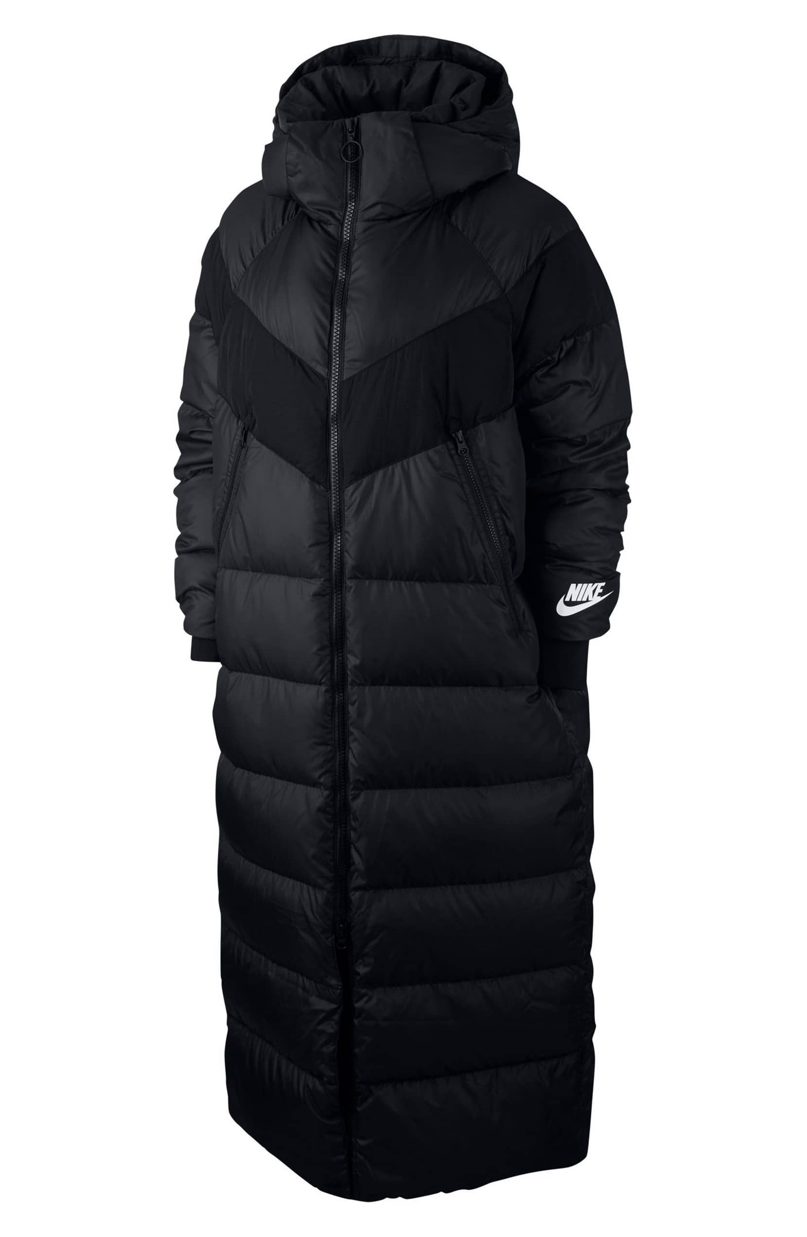 b0a6851f Nike Sportswear Women's Down Fill Parka. Sportswear Women's Down Fill Parka,  Alternate, color, BLACK/ BLACK/ WHITE