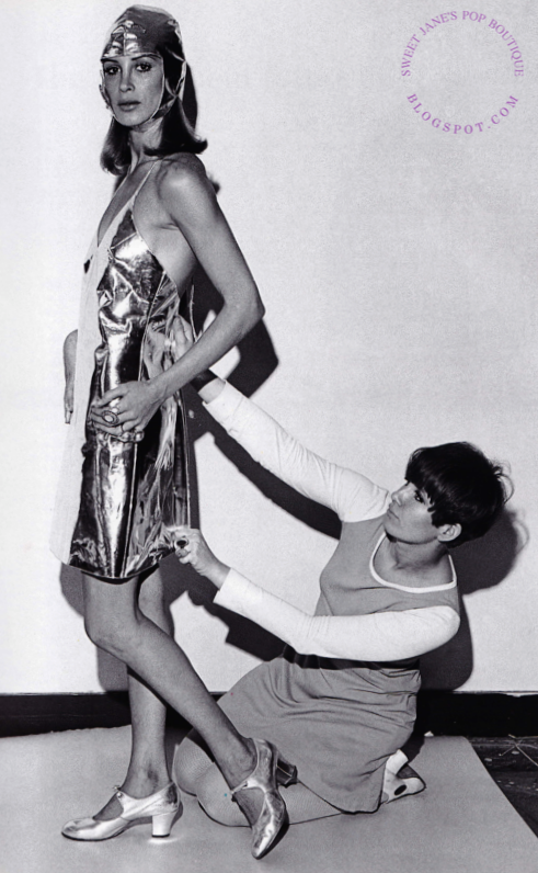 Sweet Jane Betsey Johnson S Mirror Dress 1966 Designer Betsey