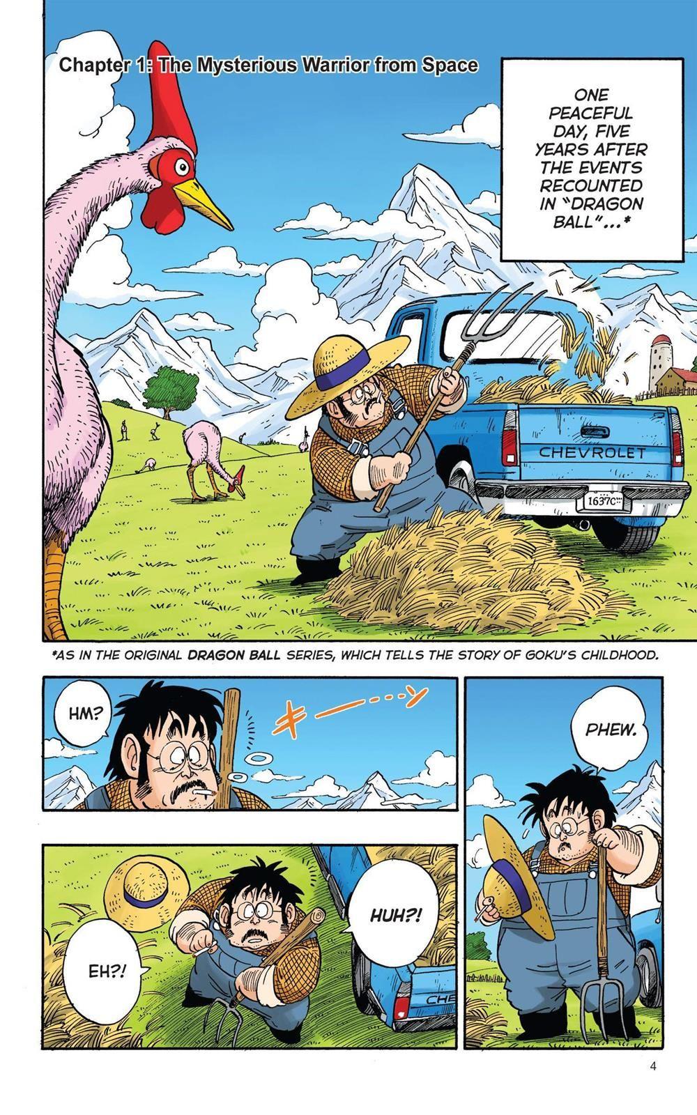 Dragon Ball Full Color Saiyan Arc Chapter 1 Page 5 Dragon Ball Dragon Ball Super Goku Dragon