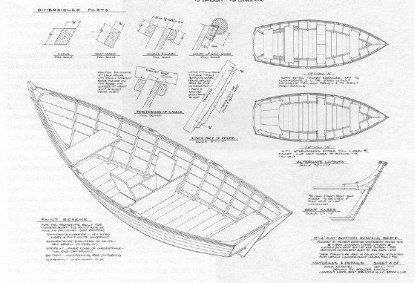 Wooden Drift Boat Plans Free