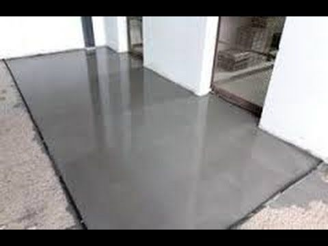 Contra piso - Dicas e passo a passo da massa farofa eficiente - YouTube