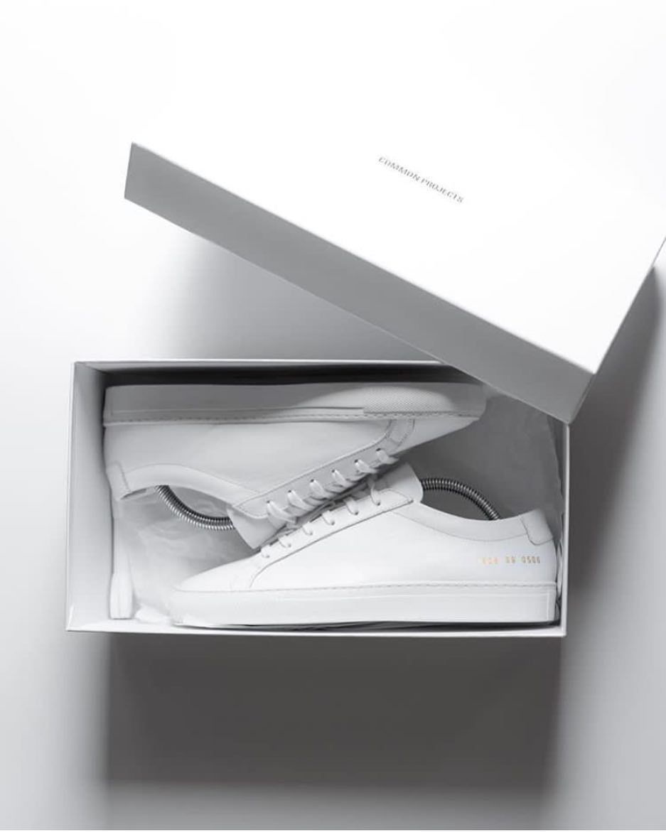 ca8f80c9ff03 The ultimate unboxing experience #commonprojects #shoes #sneakers ...