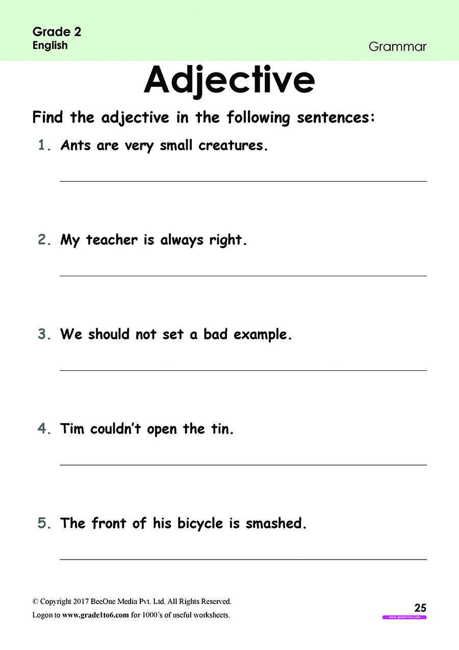 Pin On Grade 2 English Worksheets Pyp Cbse Icse