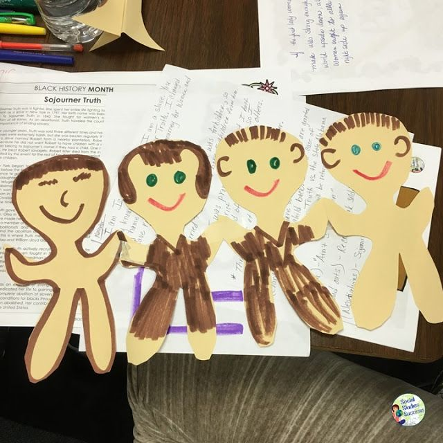 Black History Month with Prop Box Plays - Social Studies Success Blog