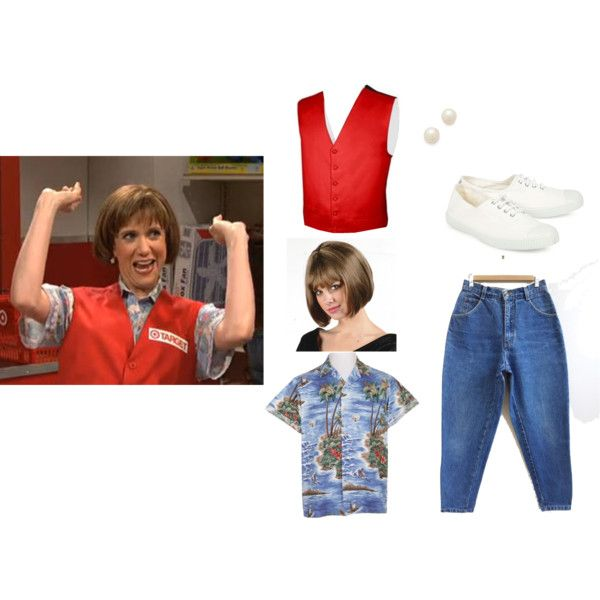 Kristen Wiig as Target Lady SNL Costume Halloween DIY | Lol ...