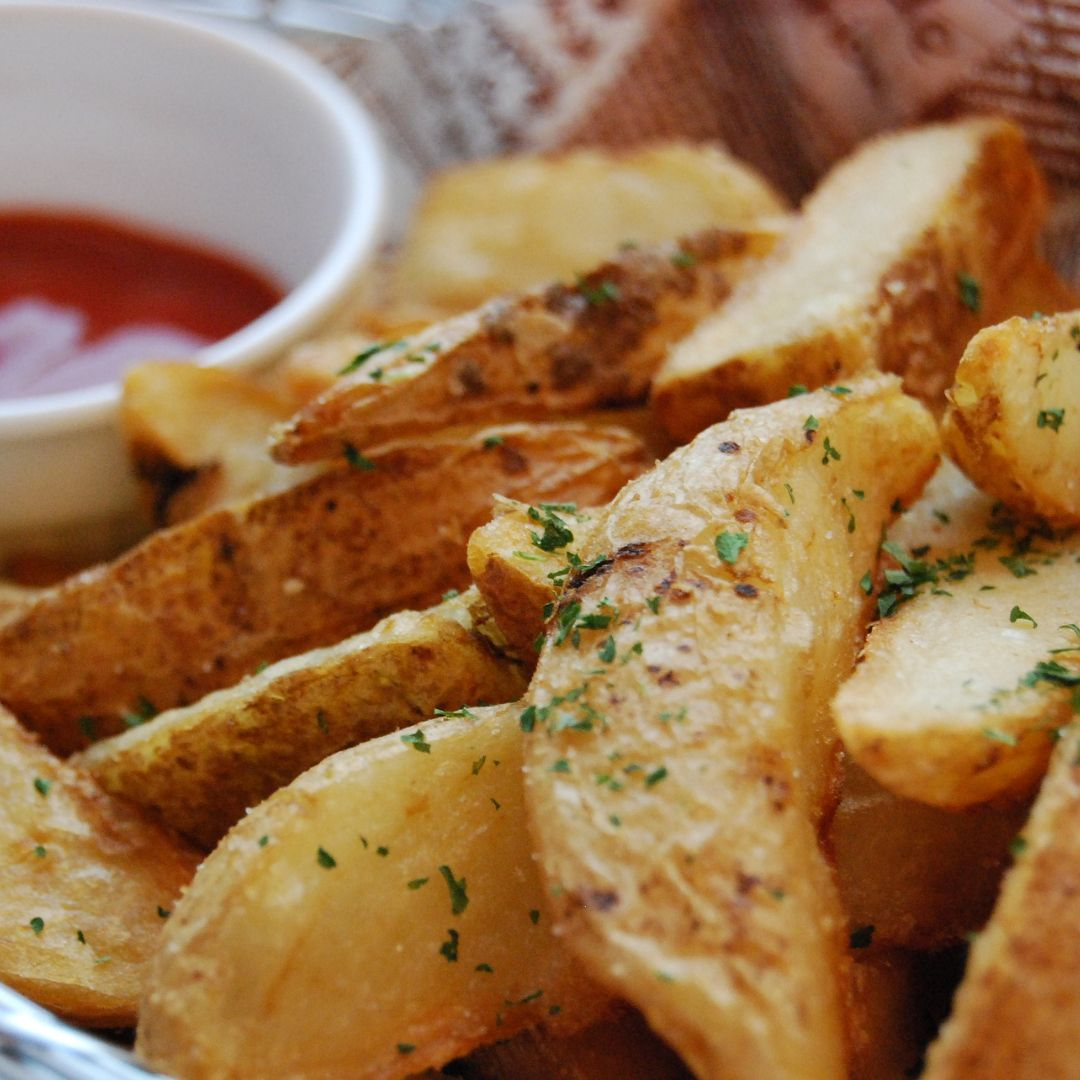 aardappelschijfjes maken