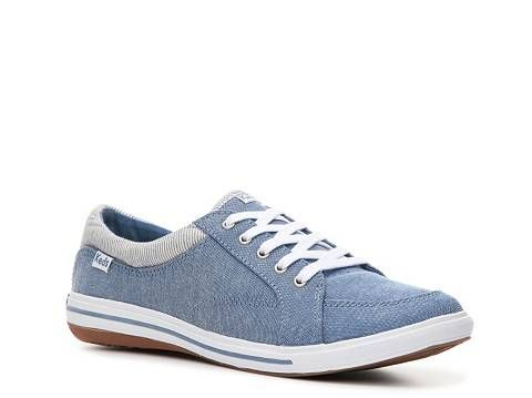 size 40 331ba 55faa Keds Women s Vollie Chambray Sneaker,  39.95 at DSW   Cushioned Ortholite  footbed is super comfortable and antimicrobial, helping to keep feet dry  and ...