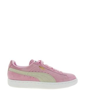 Image 1 of Puma Suede Classic Baby Pink Trainers