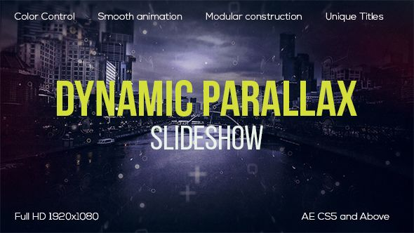 AE Dynamic Parallax #Videography | After effects