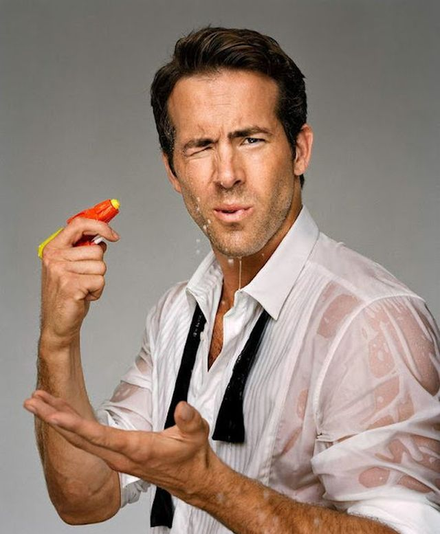 Ryan Reynolds photographed by Martin Schoeller