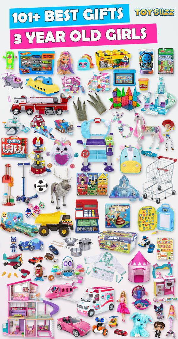 Gifts For 3 Year Old Girls 2019 List Of Best Toys
