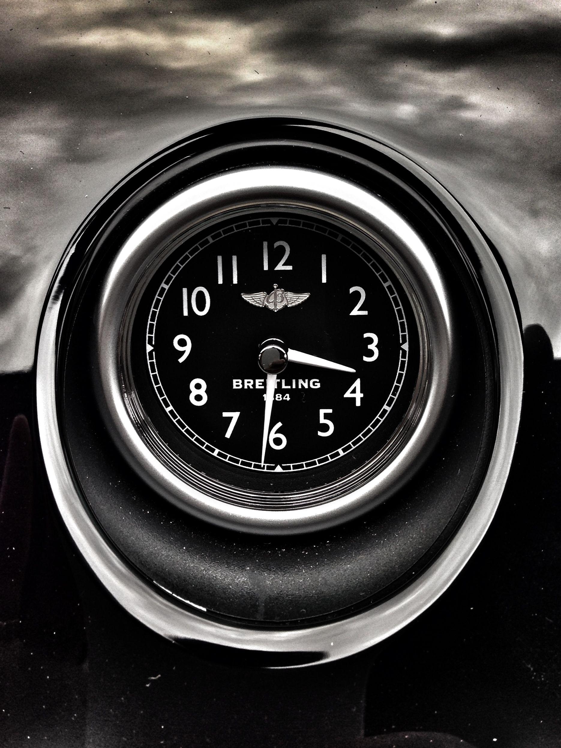 Breitling Bentley Clock