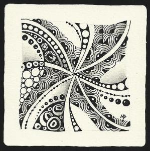 Zentangle by Margaret Bremner, Certified Zentangle Teacher by colette