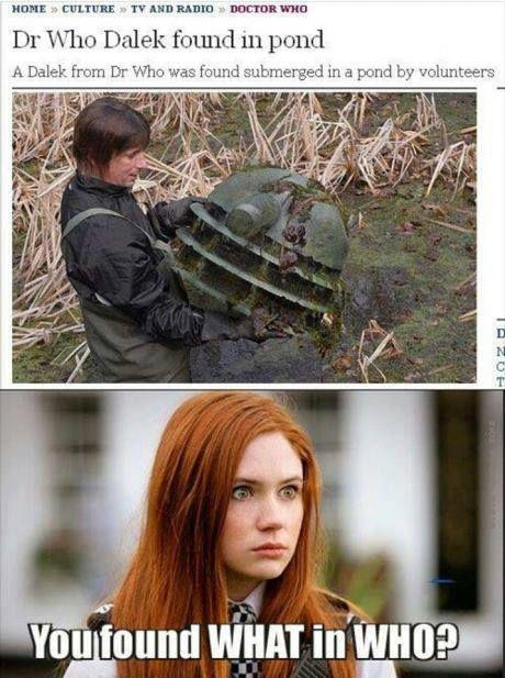Doctor Who - Amy Pond - Dalek