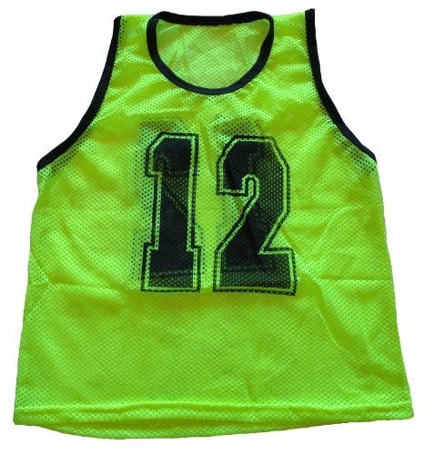 Workoutz Numbered Youth Yellow Scrimmage Vest Set 12 Qty Soccer Pinnies Learn More By Visiting The Image Lin Soccer Number Soccer Soccer Coaching