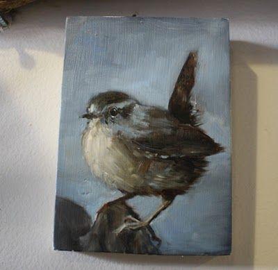 bird painting by Shauna Finn