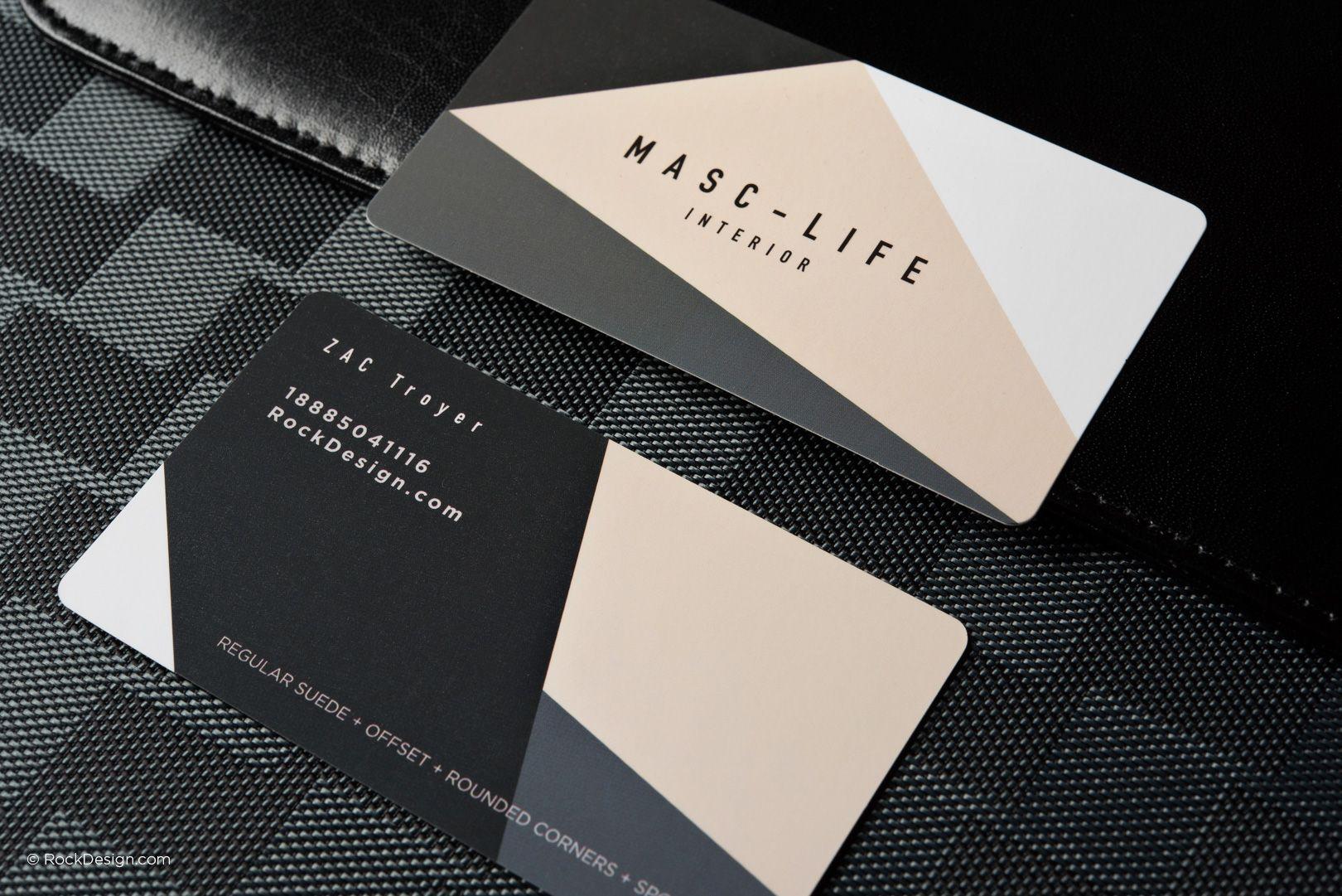 Modern elegant regular suede business card template with spot uv modern elegant regular suede business card template with spot uv masclife rockdesign luxury business friedricerecipe Image collections