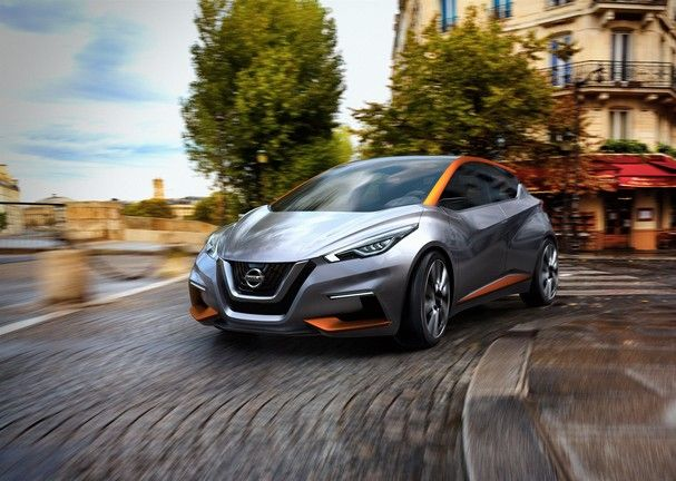 Nissan rethinks the compact hatchback: Introducing the Sway Concept #Nissan #Ajax #Sway