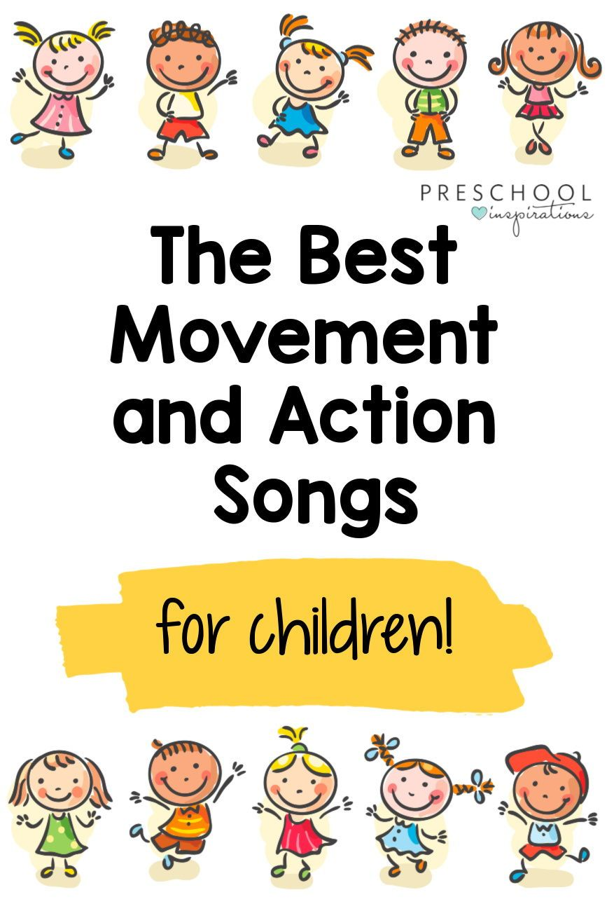 Movement and Action Songs for Kids