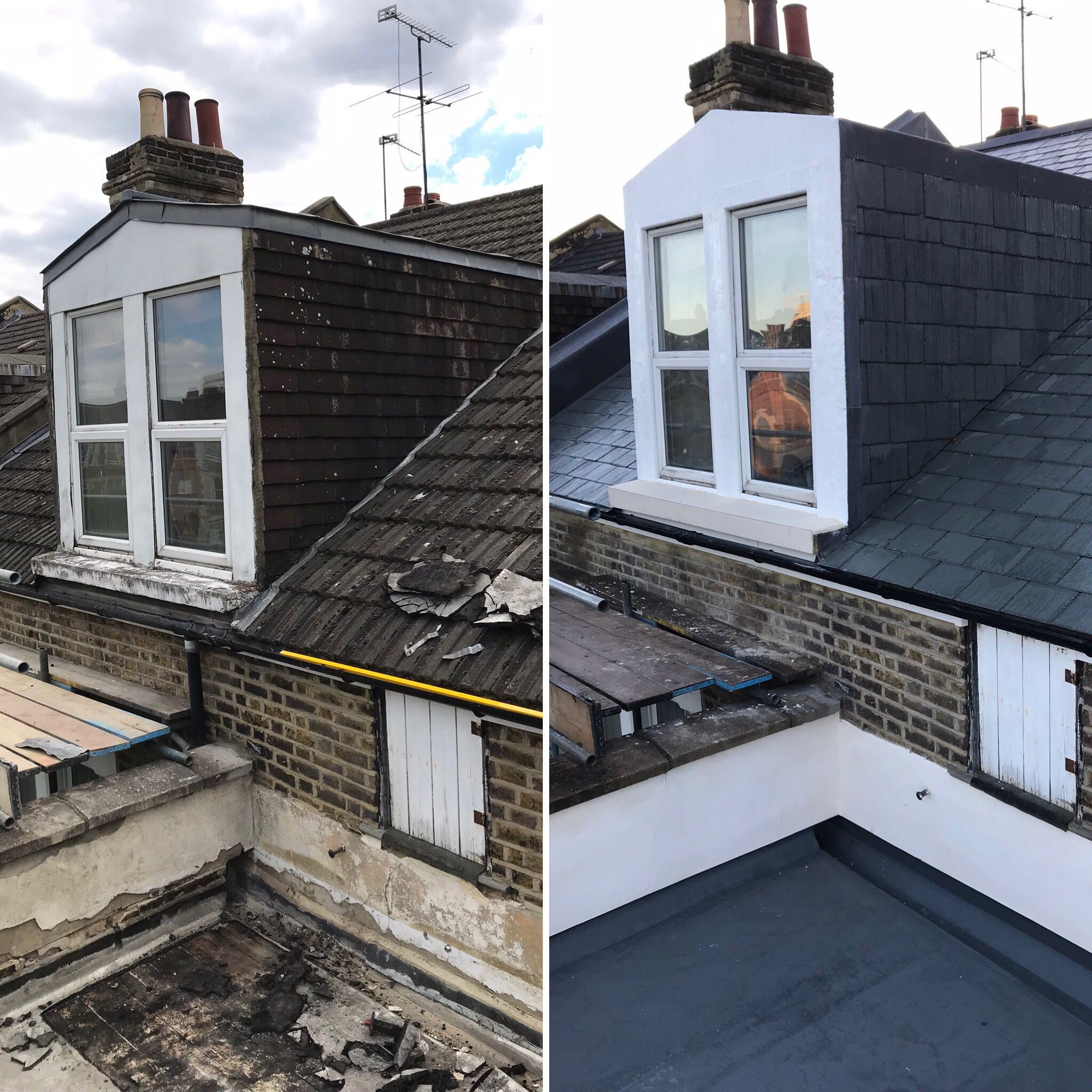 Best Roof Renewal With Natural Green Slate Roof Tiles Grp 640 x 480