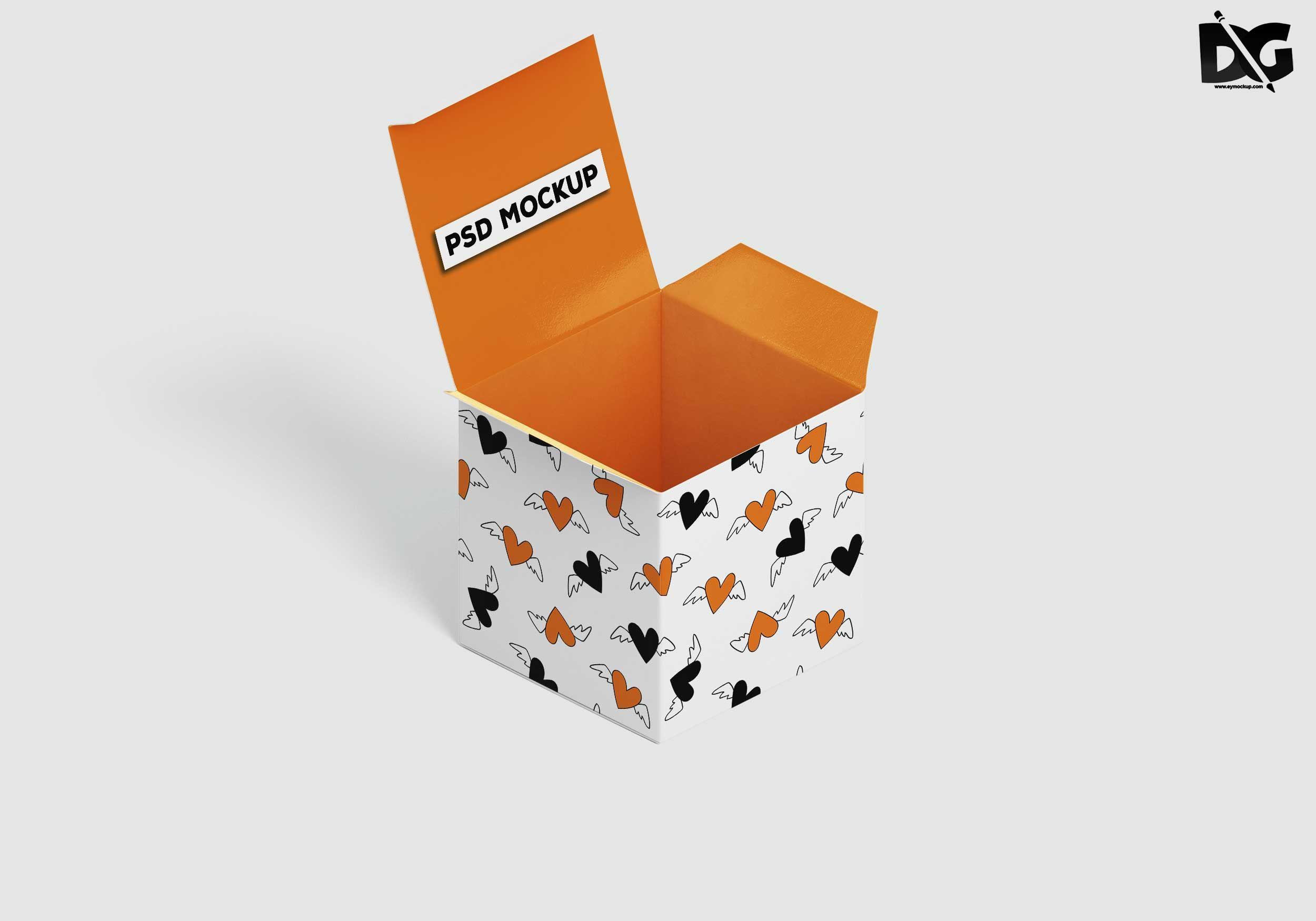 Download Free Psd Open Shoe Box Artwork Mockup Mockup Psd Free Logo Mockup Mockup Free Psd