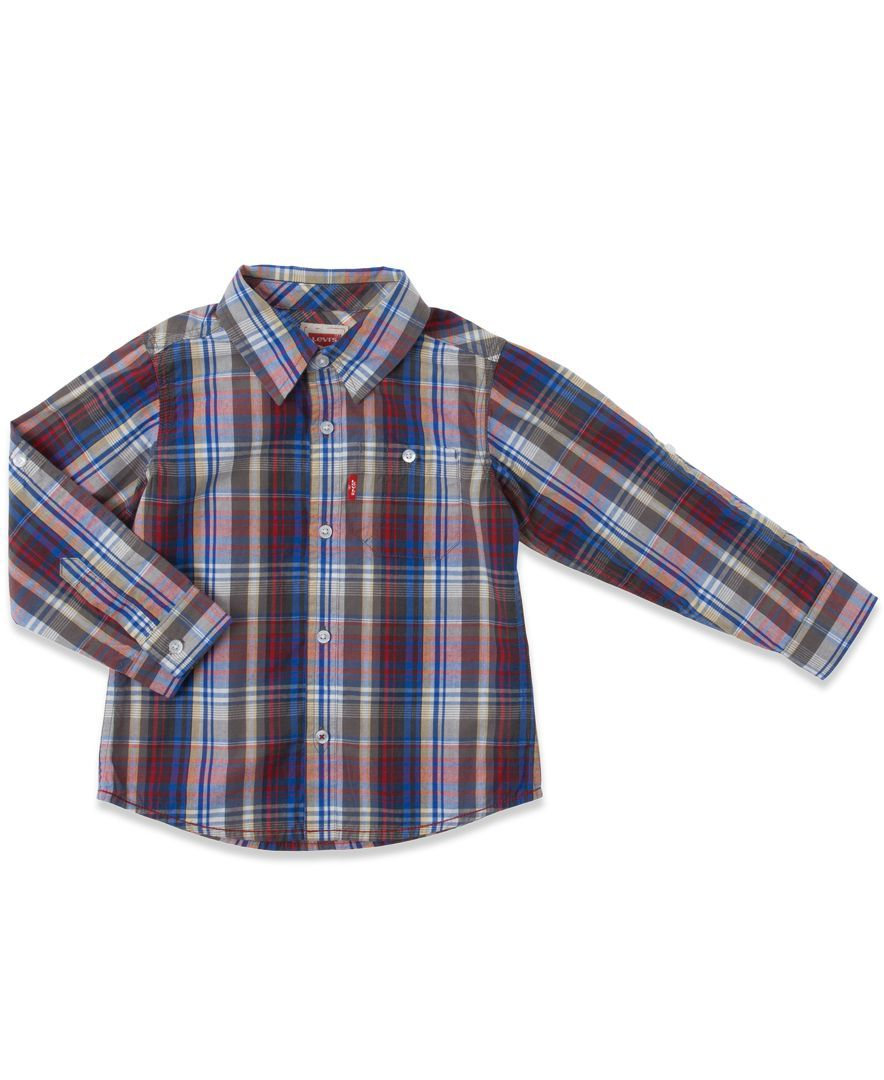 Levi's Baby Boys' Plaid Shirt