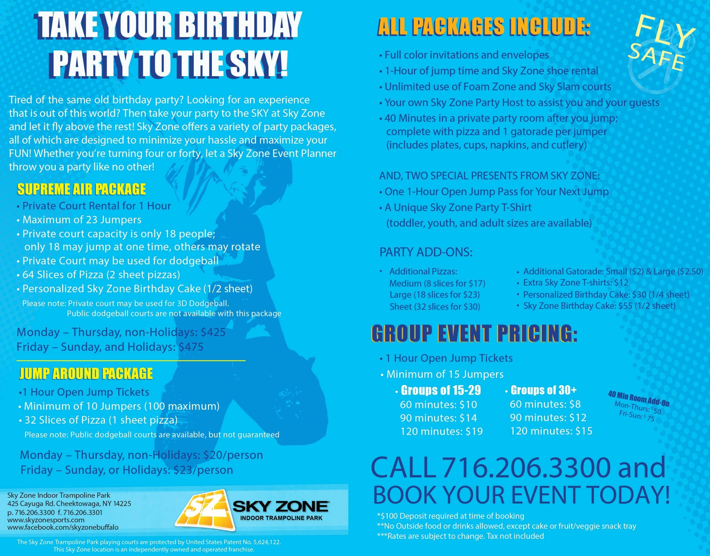 Sky Zone Indoor Trampoline Park Buffalo Whats New at Sky Zone